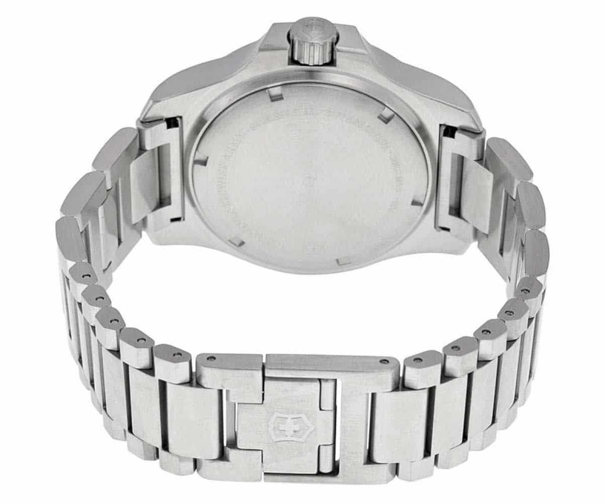 Swiss Army Inox Stainless Blue 241724 1 Fixology Jewelry